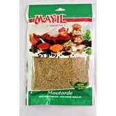 Moutarde, graines moulues, Mayil, sachet 50 gr