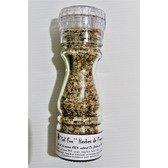 ''Sel fou'' Herbes de Provence au gros sel de source 100% naturel de Salies de Béarn , moulin en verre, 85 gr.
