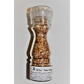 ''Sel fou'' Poivre sauvage au gros sel de source 100% naturel de Salies de Béarn, moulin rechargeable de 85 grammes