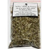 ''Sel fou'' Herbes de Provence au gros sel de source 100% naturel de Salies de Béarn , recharge 85 gr.