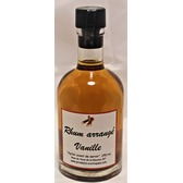 Rhum arrangé vanille 49% vol,  250 ml