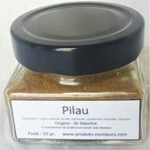Pilau, mélange d'épices pour carry, 50 gr dans pot en verre.