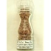 ''Sel fou'' Basque (piment) fort au gros sel de source 100% naturel de Salies de Béarn, moulin en verre 85 gr