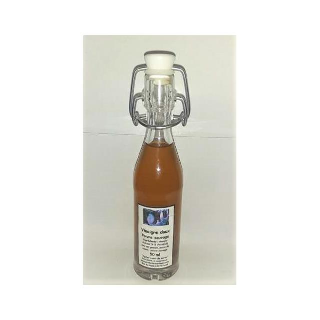 Vinaigre doux au poivre sauvage Voatsipériféry de Madagascar, bouteille en verre 50 ml