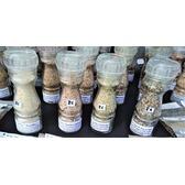 ''Sel fou'' Tomme de brebis © au gros sel de source 100% naturel , moulin en verre rechargeable 85 gr.