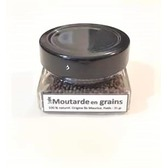 Moutarde en grains pot en verre 35 gr