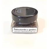 Moutarde en grains pot en verre 35 gr