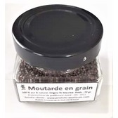 Moutarde en grains pot en verre 70 gr