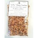 ''Sel fou'' Piment d'Espelette au gros sel de source 100% naturel de Salies de Béarn , recharge 85 gr.