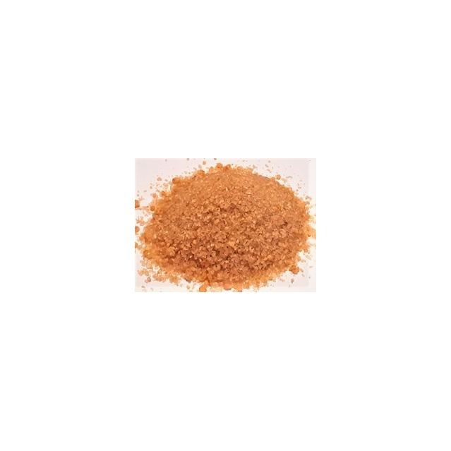 Sucre de canne aux orange confits, sachet recharge 225gr.