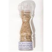''Sel fou'' Romarin - Lavande Bio © au gros sel gemme de source 100% naturel de Salies de Béarn , moulin rechargeable, 85 gr.