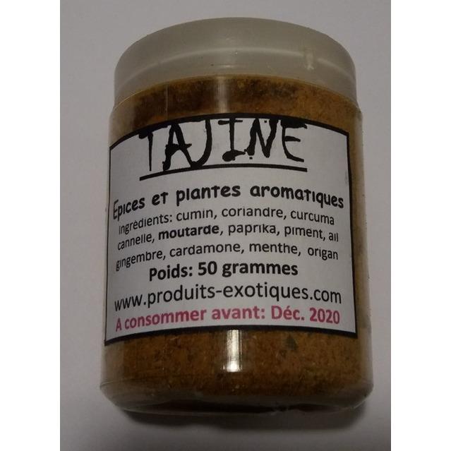 Tajine, épices et aromates