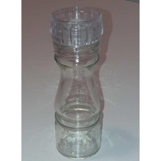 Moulin en verre, rechargeable, 100 ml