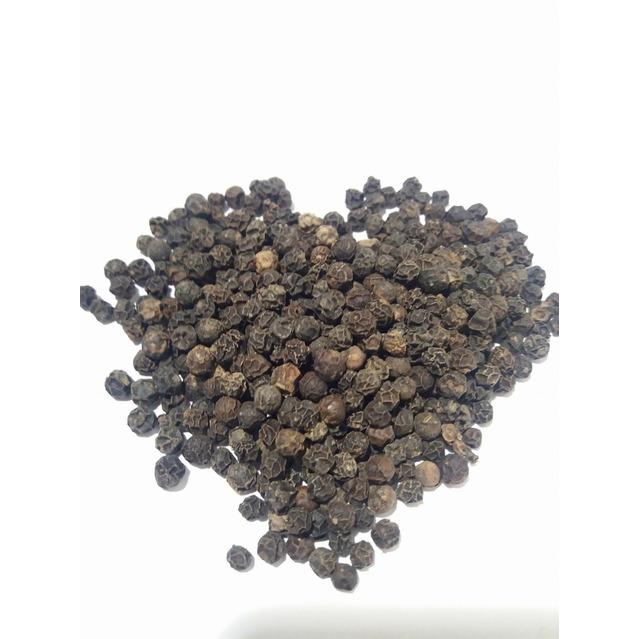 Poivre noir de Madagascar en grain, pot en plastique PET, 50 grammes