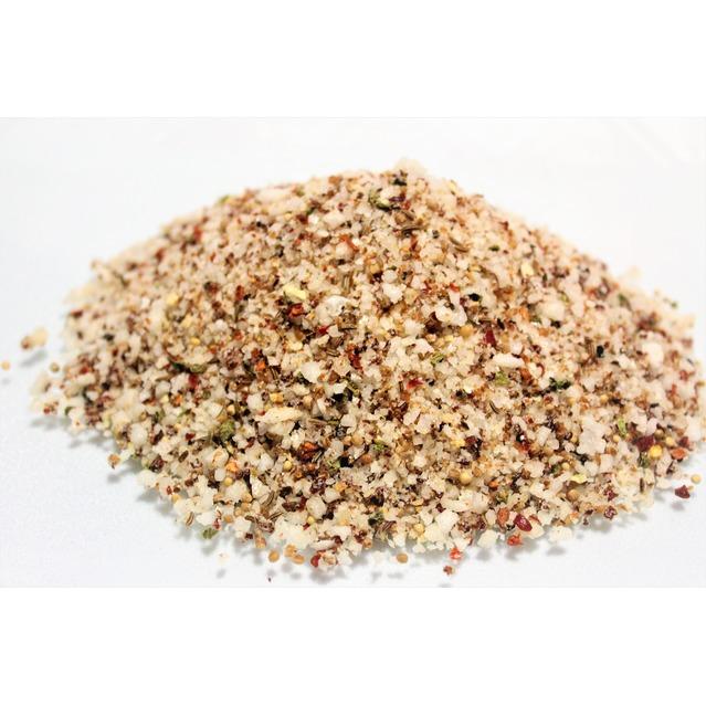 ''Sel fou'' Méditerranéen © au gros sel de source 100% naturel de Salies de Béarn , recharge 85 gr.