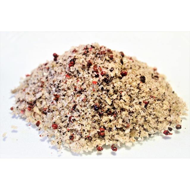 ''Sel fou'' Baies roses © au gros sel de source 100% naturel de Salies de Béarn , recharge 225 gr.