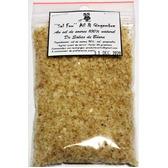 ''Sel fou'' Ail & Gingembre © au gros sel de source 100% naturel de Salies de Béarn, recharge 85 gr.