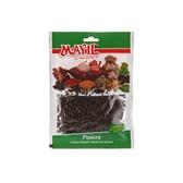 Poivre noir en grain, Mayil, sachet de 25 grammes