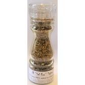 ''Sel fou'' Tajine © au gros sel de source 100% naturel de Salies de Béarn , moulin en verrere chargeable 85 gr.