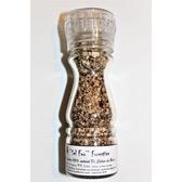 ''Sel fou'' Forestier © au gros sel gemme de source 100% naturel de Salies de Béarn , moulin en verre, 85 gr.