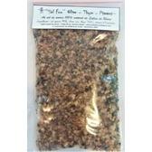 ''Sel fou'' Olive - Thym - Piment d'Espelette au gros sel gemme de source 100% naturel de Salies de Béarn , recharge 85 gr.