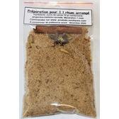 Kit préparation rhum arrangé pour 1 l, sucre de canne aux 4 épices, sachet 70 gr
