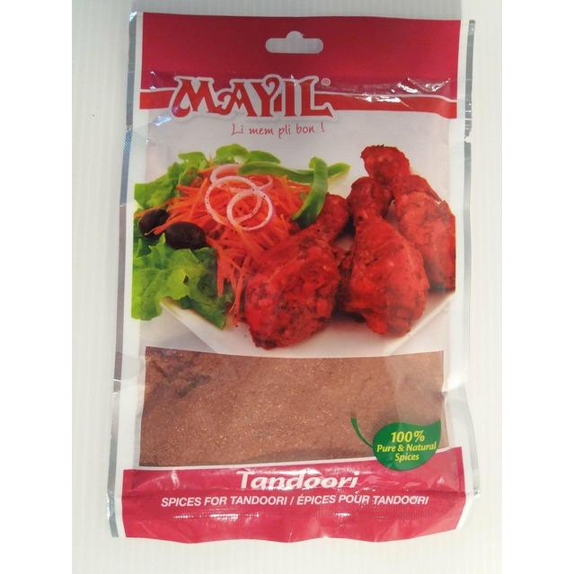 Mélange d'épices moulu pour Tandoori Mayil, 50 gr