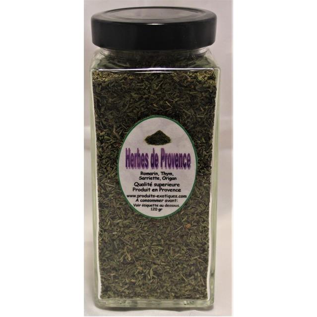 Herbes de Provence qualité supérieure, pot en verre 120 gr