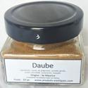 Daube, mélange d'épices pour carry, 50 gr dans pot en verre.