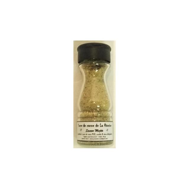 Préparation mojito au sucre de canne, saupoudreur 85 gr