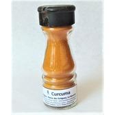 Curcuma de la Réunion, Safran jaune, saupoudreur en verre 45 gr