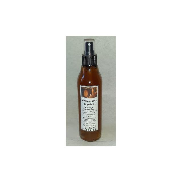 Vinaigre doux au poivre sauvage, spray en verre 150 ml