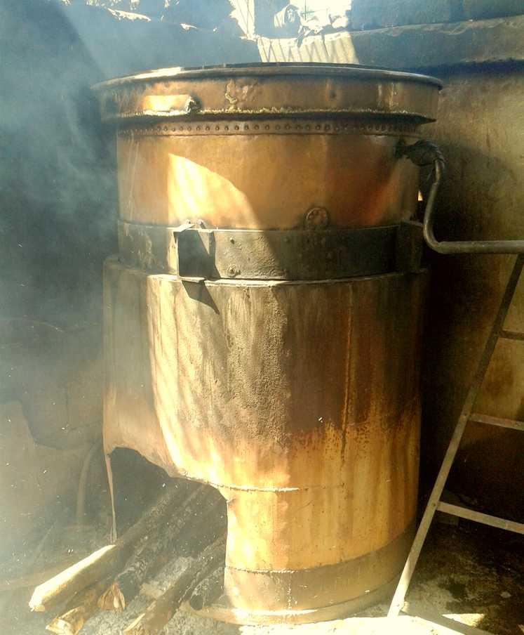 Distillation et récupération de l'huile essentielle