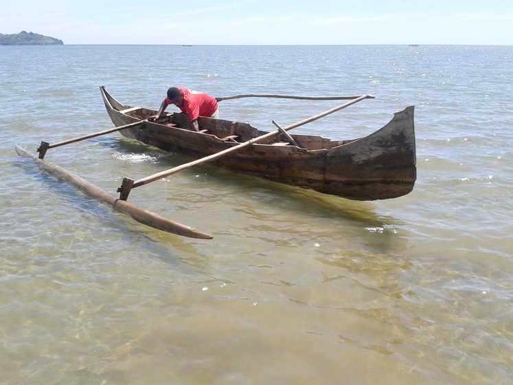 Pirogue local
